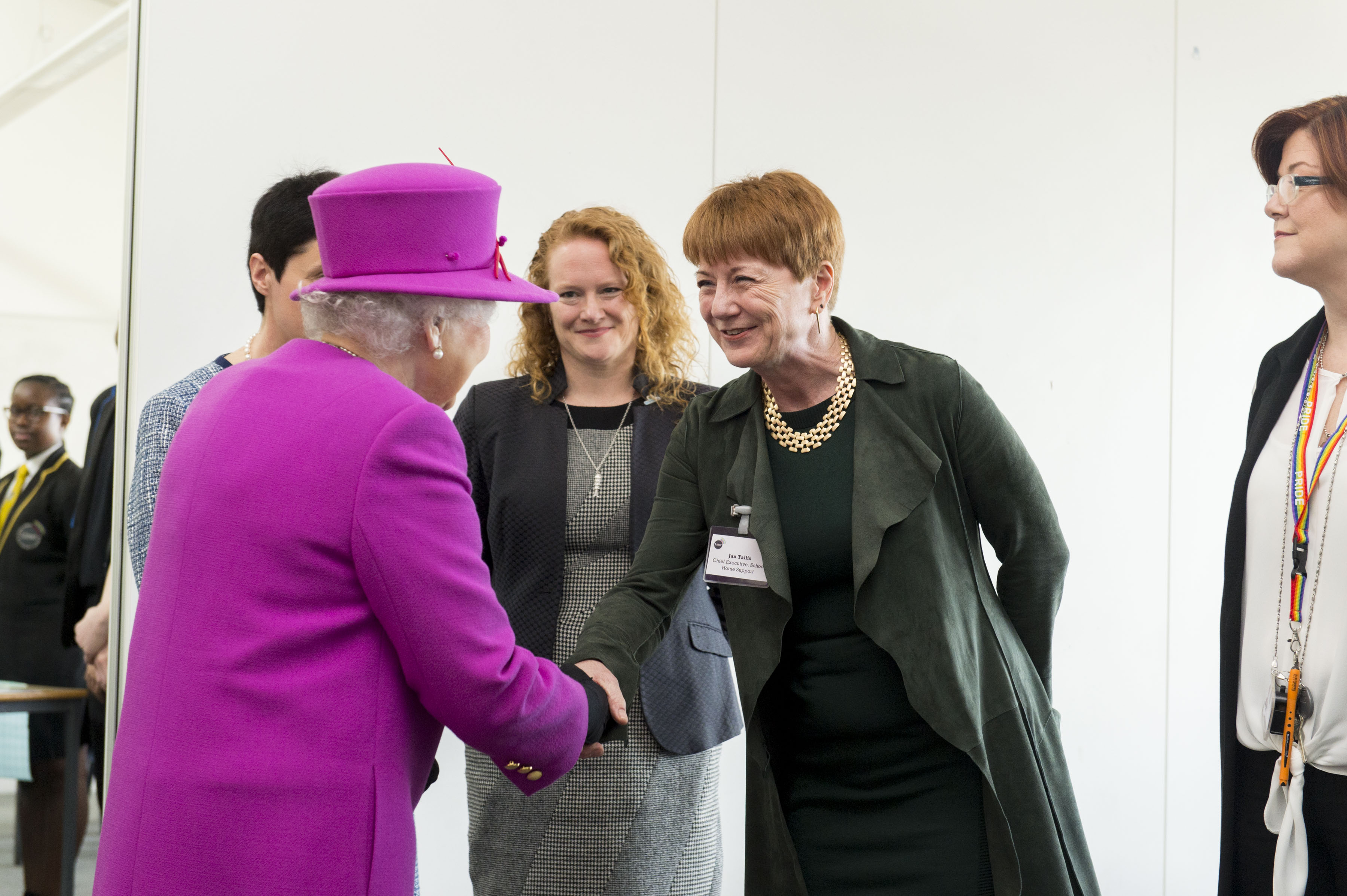 HM The Queen visit. Queens Trust - Lister Community School