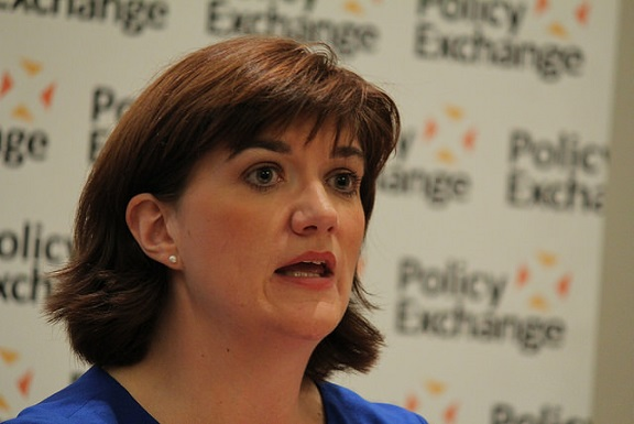 Nicky Morgan, Education Minister